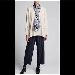 Eskandar sweater top 3/4 sleeve size M/L